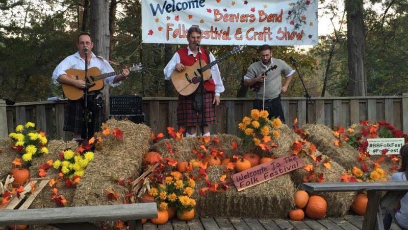 Folk Festival Beavers Bend State Park